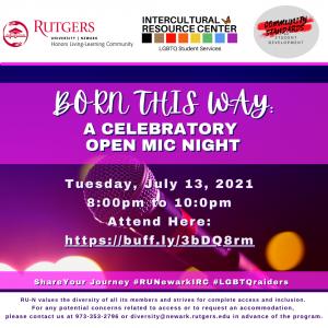 Born This Way: Open Mic Night